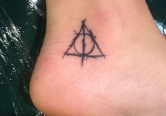 Deathly Hallows Tiny Tattoo, This is pretty awesome!