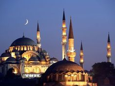 The Sultan Ahmet Mosque, more commonly The Blue Mosque - Istanbul, Turkey