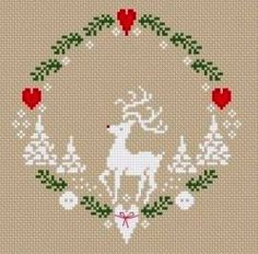 Couronne de Noël - Christmas wreath