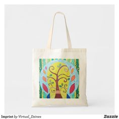 Shop Imprint Tote Bag created by Virtual_Dzines. Design Your Own, Abstract Art, Fashion Accessories, Reusable Tote Bags, Gifts, Color, Style, Swag, Presents