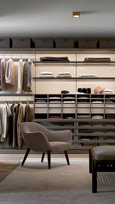 Modern Wardrobe, Wardrobe Design, Elegant Home Decor, Elegant Homes, Italian Furniture Design, Wardrobe Room, Inside Design, Closet Designs, Bedroom Styles