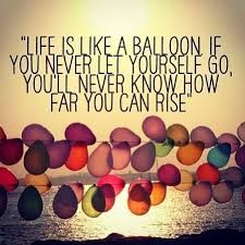 Cute Balloon Quote Hot Air Quotes Life Words Board Disney