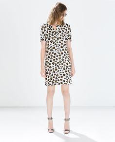 8424bbd3 Image 1 of PRINTED DRESS WITH BACK ZIP from Zara Zara Women, Zara United  States