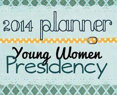 Digital Scrapbooking Made Easy: - 2014 YW Presidency Planner -