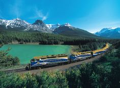 I'd love to travel across Canada by train, and through the Rockies.