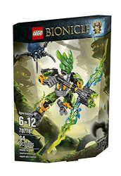 LEGO Bionicle 70778 Protector of Jungle Building Kit  Block Skull Spider attacks with the Protector of Jungle! Beware! The evil Skull Spider is mounting an attack deep in the jungle. Repel the Skull Spider with LEGO BIONICLE Protector of Jungle with dual-tone mask and Air Elemental Flame Bow with a rapid shooter. Swoop to the defense of the Protectors' village with the awesome