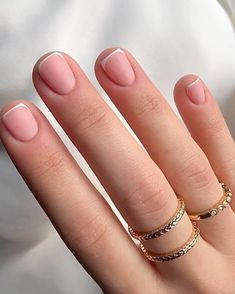 Beauty Nails, Beauty Skin, Natural Color Nails, Magic Nails, Ideas For Instagram Photos, Anklet Jewelry, French Nails, Classic Beauty, Pink Nails