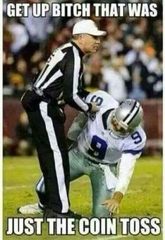 Football humor...