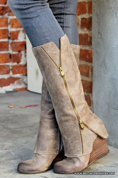 fashion grey boots for the season - Woman Shoes - Best Collection