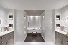 Mandarin Oriental Hotel- Modern Luxury Design in the Heart of Paris Luxury Hotel Bathroom, Paris Bathroom, Luxury Rooms, Bathroom Interior, Modern Bathroom, Hotel Bathrooms, Luxury Bathrooms, White Bathroom, Bathroom Images