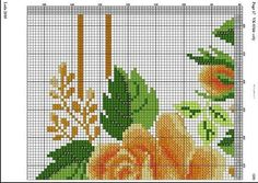 """Photo from album """"Вышивка схемы"""" on Yandex. Cross Stitch Designs, Cross Stitch Patterns, Cross Stitch Rose, Table Toppers, Tapestry, Embroidery, Creative, Erika, Cross Stitch Bird"""