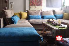 Σαλόνι Γωνία Paros - Factory Sofa
