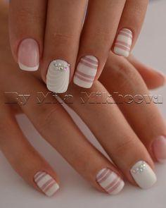 Pale nail art design | Consulta esta foto de Instagram de @vechnayamila • 84 Me gusta