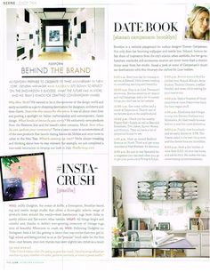 Luxe Magazine feature where I share a few favorite local neighborhood spots