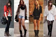 Resultado de imagem para moda outono inverno 2015 calçados