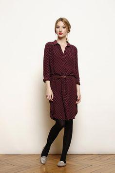 dress Univers burgundy - Femme - Des petis hauts
