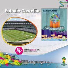 #Brasl2014 || Conoce el Estadio Castelao  + Poster + Ciudad + Partidos que albergará  >>http://goo.gl/073z8f