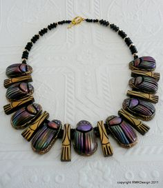The Egyptian Revival necklace complete | Flickr – Condivisione di foto!