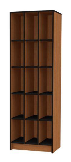 The Harmony Instrument Storage cabinets have an ABS shelf cover that allows for air circulation under the instrument or case. This cabinet accommodates 15 Clarinets, Flutes, Piccolos or Oboes.