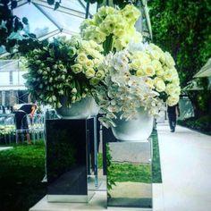 """What a perfect day! #weddingday #wedding #flowersofinstagram #roses #tulips #phalaenopsis #hippeastrum #houseflowers #white"""