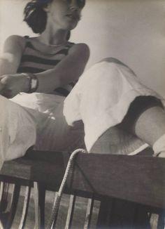 Josef Albers, Untitled (Babs at Stossensee), ca. Gelatin silver print, sheet: 9 x 6 inches x cm) Museums In Nyc, Victor Vasarely, Josef Albers, Willem De Kooning, Gelatin Silver Print, Helen Frankenthaler, Foto Art, Girls Be Like, Famous Artists
