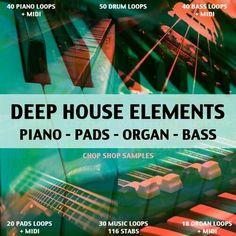 Deep House Elements sample packs
