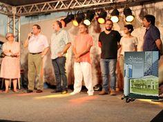 Revista em quadrinhos que conta história de Manaus foi lançada durante evento (Foto: Indiara Bessa/G1 AM)