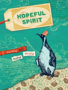 """Hopeful Spirit"" Ocean Canvas Art by Carmen Mok 14x18 $89, 18x24 $119 