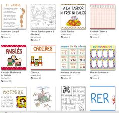 LILA LA :dites, cartells, normes... Norman, Web Gallery, Teacher Resources, Classroom, Album, Templates, Teaching, Bullet Journal, School
