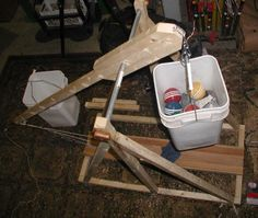 How to Build a Trebuchet (1 Meter Scale): 9 Steps (with Pictures)