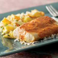 DELISH Fish Dinner for Lent :) Had this tonight and it was AMAZING! Used the Snapper option.
