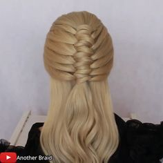 Cute Braided Hairstyles, Easy Hairstyles For Long Hair, Crown Hairstyles, Barbie Hairstyle, Hair Upstyles, Long Hair Video, Natural Hair Styles, Long Hair Styles, Cool Braids