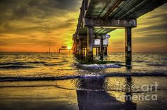 """""""Clearwater Pier"""" photo by Marvin Spates, to buy this photo click on it and follow the directions."""