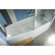 Baignoire douche Sofa JACOB DELAFON, 160x85 cm, robinetterie à droite
