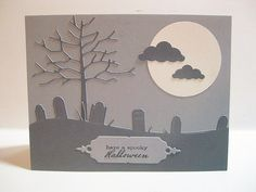 Memory Box Die Tutorials | Memory Box has a couple of really nice grey notecards (Dove and ...