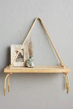 Teak Swing Shelf