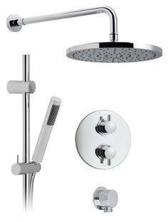 Shower set for shower room - no rail.