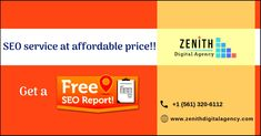 Zenith Digital Agency - A Leading 360 Degree Digital Marketing Agency with hundreds of satisfied clients accross the Globe. Call us - Best Seo Services, Digital Marketing Services, Seo Sem, Business Sales, Web Development Company, Internet Marketing, Improve Yourself, Usa