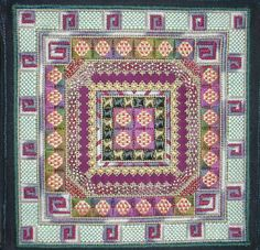needlepoint geometric