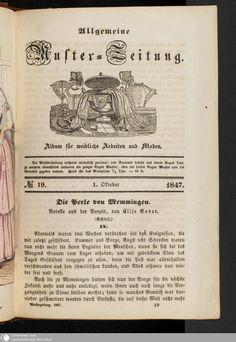 17 - No. 19. 1. Oktober - Allgemeine Muster-Zeitung - Seite - Digitale Sammlungen - Digitale Sammlungen