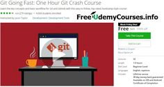 [Udemy #BlackFriday] #Git Going Fast: One Hour Git Crash Course   About This Course  Published 6/2014EnglishClosed captions available  Course Description  Git Going Fast: One Hour Crash Course  This course is designed to cut academic theory to just the key concepts and focus on basics tasks in Git in order to be productive quickly. Students can expect to learn the minimum needed to start using Git in less than an hour.  Recent Course Updates  October 17th: AddedUpdates and Erratasection…