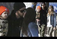 Justin Timberlake and Jessica Biel take baby Silas to the playground