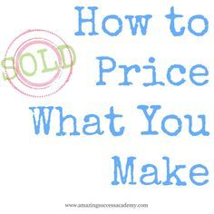 As an artist you have the fortunate opportunity to learn how to price what you make. Some claim this is pure science and if you just add up the numbers, viola! You'll have a price that will sell. Other's claim that it's all in your gut and you should sell what you make based on …