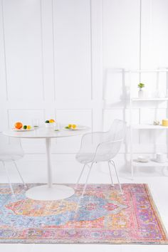 Style your home with modern colors and designs that our extensive collection offers! Modern Rugs, Modern Living, Modern Colors, Your Perfect, Contemporary Style, Home Accessories, Dining Table, Decorations, Space