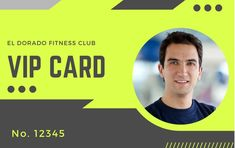 This is a free editable id card template for anybody to use. Change up the colors, change the text, we've created many ID Cards using these templates. Id Card Template, Card Templates, Free Id, Vip Card, Graphic Design Software, Portfolio Website, Website Template, Presentation, Change