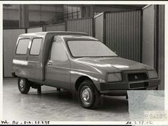 OG | 1984 Citroën C15 | Full-size mock-up dated Aug. 1978