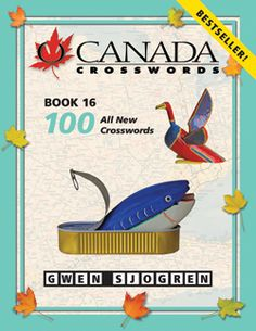 O Canada Crosswords Book 16 Three Letter Words, Money Change, O Canada, Book Format, Word Play, Crossword, Puns, Entertaining, Books