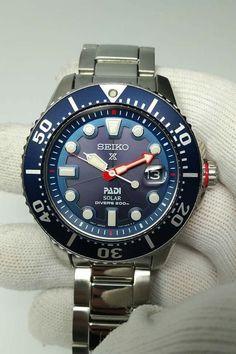 Seiko SNE435 Solar PADI Dive Watch