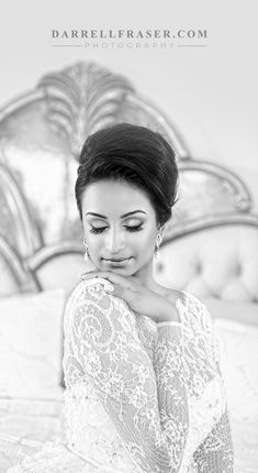 What a stunning bride - Darrell Fraser Photography at Summerplace, Sandton, South Africa #bride #wedding #beauty #portrait #elisaab