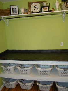 Laundry Room     Folding Counter/Sorting Area